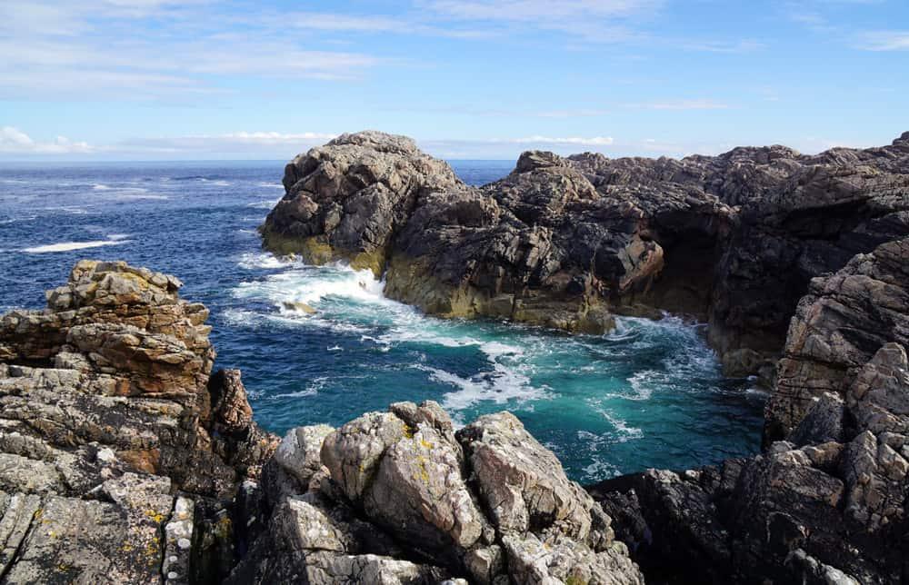 Rundreise durch die schottischen Highland - Strathy Point