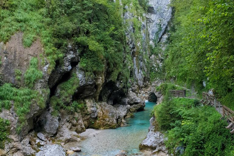 Tolminer Klammen – Wandern in Slowenien